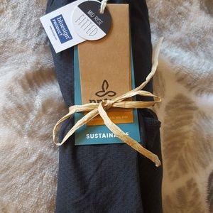 Prana Large Mitsy Yoga Legging - Black Geo